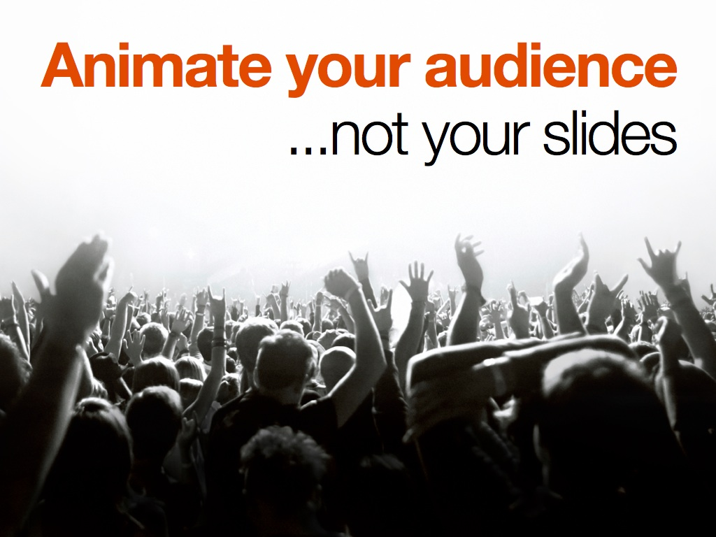 Animate Your Audience – Not Your Slides | Phil Presents